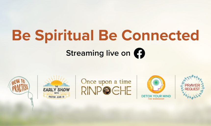 Be Spiritual Be Connected: 2021 Schedule!